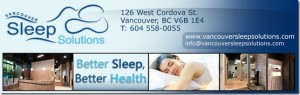downtown vancouver physiotherapy and sleep referral to sleep solutions logo